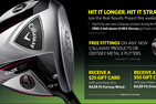 Golf Galaxy Online Kiosk Campaign Graphics